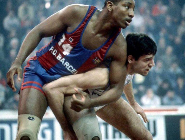 Audie Norris, el mejor extranjero de la historia delFCBbasket