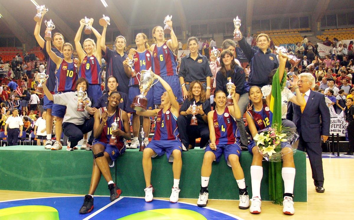 U.B. Barça, campeonísimasblaugranas